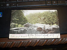 Old Postcard 1907 Colby Wis On Eau Pleine River Undivided Back