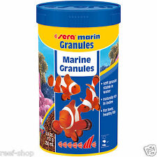 Sera Marin Granules Saltwater Fish Food 3.9 oz. (250 ml) FREE USA SHIPPING!