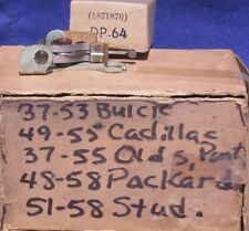 1937 1940 1950 1958 Buick Cadillac Oldsmobile Pontiac Packard NOS Points