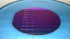 """Silicon Wafer 4"""" Collectible Display and Artwork Squares #8"""