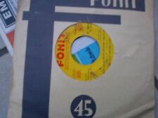 """7""""  BILL HALEY & HIS COMETS ROCK AROUND THE CLOCK MAMBO ROCK ITALY FONIT EX/EX+"""