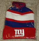 New - NY Giants Bud Light NFL Hat Touque Beanie Budweiser New York 2014 Sealed