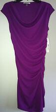 $119 NWT DKNY Donna Karan Purple Cocktail Evening Dress M 8 10 DKNYC Solid New