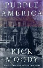 Purple America (SIGNED) by Rick Moody