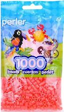 1000 Perler hot coral Color Iron On Fuse Beads