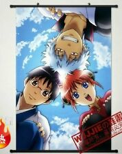 Home Decor Japanese Anime Wall poster Scroll Gintama Sakata Gintoki Kagura Art