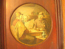 Rare antique tin lithographed sign advertising Daily Age Newspaper C Stoitzner