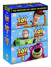 Toy Story 1-3 Box Set  DVD Tom Hanks, Tim Allen, Joan Cusack, Kelsey Grammer, Do