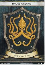 3 x House Greyjoy Faction Card Banner of the Kraken AGoT LCG 2.0 Game of Thrones
