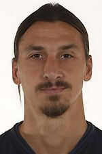 Football Photo ZLATAN IBRAHIMOVIC PSG 2014-15
