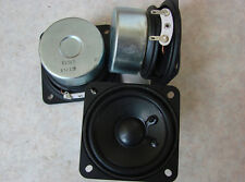 "2pcs 2.5"" inch Full-range speakers PU edge 15 Watts 4 Ohms"