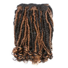"Afro Hair Extension Weave On | Kinky Dreadlock 22"" (56 cm) Off Black-Copper"
