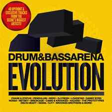 DRUM & BASS ARENA Evolution 2xCD NEW - S.P.Y CHASE STATUS NERO NOISIA DnB Jungle
