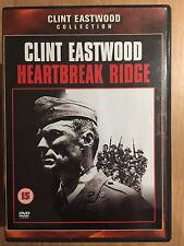 Clint Eastwood MArio Van Peebles HEARTBREAK RIDGE ~ 1986 War Drama UK DVD