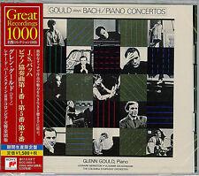 GLENN GOULD-J.S.BACH: PIANO CONCERTOS NO. 1-5 & NO.7-JAPAN 2 CD C94