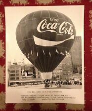 Vintage Coca Cola 1976 St Louis Hot Air Balloon Race Photo By Bob Arteaga 8 x10""