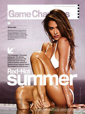 Jessica Alba 2-page clipping Aug 2016 Red Hot Summer