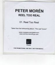 (FL651) Peter Moren, Reel too Real - DJ CD