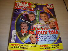 TELE 2 SEMAINES 139 25.04.2009 CAROLE BOUQUET ARDITI CINEMA COCO AVANT CHANEL