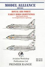 Model Alliance 1/72 Early BAC/EE Lightnings # 72134