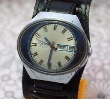 Vintage Russian Soviet Big watch POLJOT STADIUM Servised USSR Rare Exports