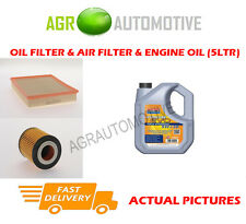 PETROL OIL AIR FILTER KIT + LL 5W30 OIL FOR VAUXHALL VECTRA 3.2 211 BHP 2002-05