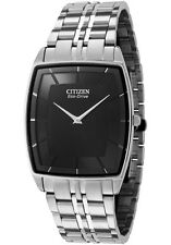 Citizen Eco-Drive Men's Stainless Steel Watch AR3020-53E Retail $435 New!!