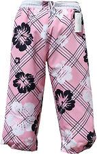 BERMUDA HERREN DAMEN BADEHOSE Cargo BADESHORTS Rosa Pink in XL