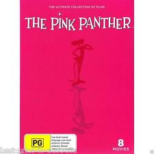 The PINK PANTHER - The ULTIMATE Collection Of Films DVD NEW RELEASE 8-MOVIES R4