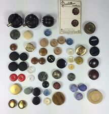 Vintage Buttons Larger Size Buttons, 5.5 ounces,  Collection from 89 year old