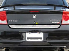 FITS DODGE CHARGER 2006-2010 STAINLESS CHROME REAR DECK TRIM