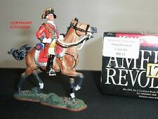 KING AND COUNTRY BR33 AMERICAN REVOLUTION GENERAL CORNWALLIS MOUNTED TOY SOLDIER