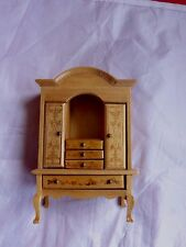 Dolls House miniatures-Pretty Floral Décoration armoire/commode