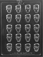 BS SKULL PIECES candy chocolate molds halloween day of the dead small skulls