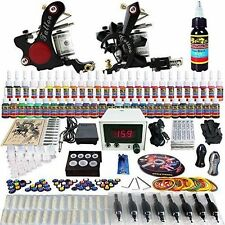 Solong Tattoo® Complete Tattoo Kit 2 Pro Machine Guns 54 Inks from Solong Tattoo