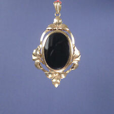 Stunning Picture Locket Pendant Gold Filled Photo