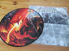 DIABOLIC SUBTERRANEAL MAGNITUDE OOP PIC LP brutality vital remains immolation