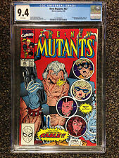 THE NEW MUTANTS (1990) #87  CGC 9.4 NM  1ST APPEARANCE OF CABLE & STRYFE LIEFELD