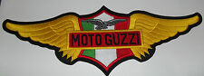 Moto Guzzi embroidered cloth back patch.