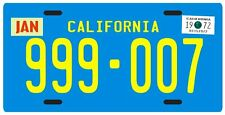 Emergency 51 TV show 1972 California License plate