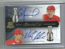 2011-12 Upper Deck The Cup Stanley Cup Signatures LARIONOV   LIDSTROM # /25