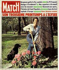 PARIS MATCH Roussos Bergman Lyon Front Populaire Pradel