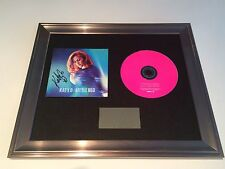 PERSONALLY SIGNED/AUTOGRAPHED KATY B - LITTLE RED FRAMED CD PRESENTATION. RARE
