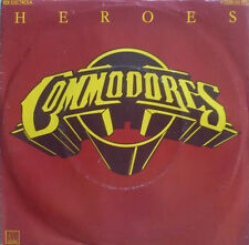 "7"" 1980 RARE MINT- ! THE COMMODORES : Heroes"