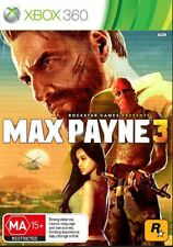 Max Payne 3  XBOX 360 Game PAL