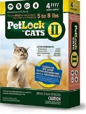 PetLock II for Cats 5 - 9 lbs - 4 Month Supply -NEW!!