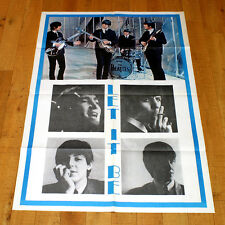 THE BEATLES LET IT BE manifesto poster Apple Records Concert Savile Row Londra