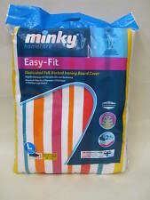 New Minky Cotton Ironing Board Cover 122cm x 43cm Easy Fit Assorted Elasticated