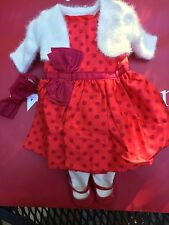 American Girl Maryellen Christmas Party Outfit NIB Sweater Shoes