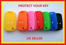VAUXHALL OPEL ASTRA J ADAM ZAFIRA C SILICONE 2 BUTTON COVER FLIP KEY FOB CASE 2